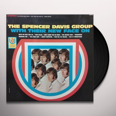 Spencer Group Davis WITH THEIR NEW FACE ON Vinyl Record