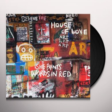 SHE PAINTS WORDS IN RED Vinyl Record