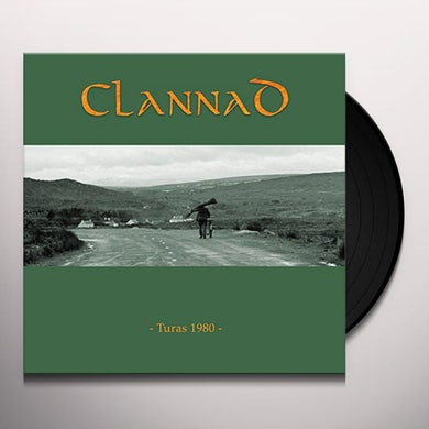Clannad TURAS 1980 Vinyl Record