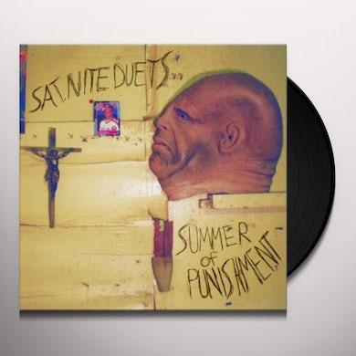 Sat Nite Duets SUMMER OF PUNISHMENT Vinyl Record