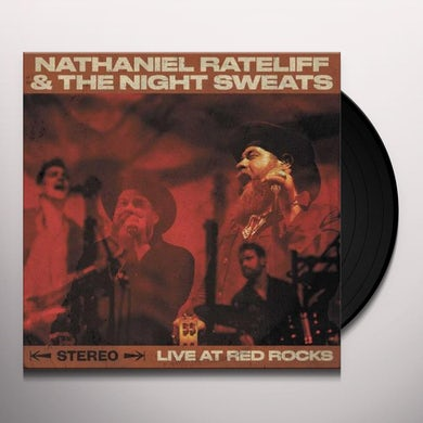 Nathaniel Rateliff & The Night Sweats  Live At Red Rocks (2 LP) Vinyl Record