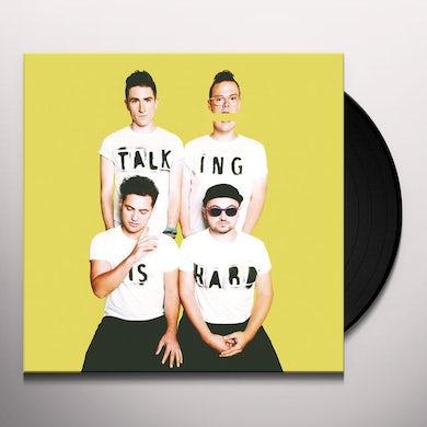 TALKING IS HARD (DL CARD/180G) Vinyl Record