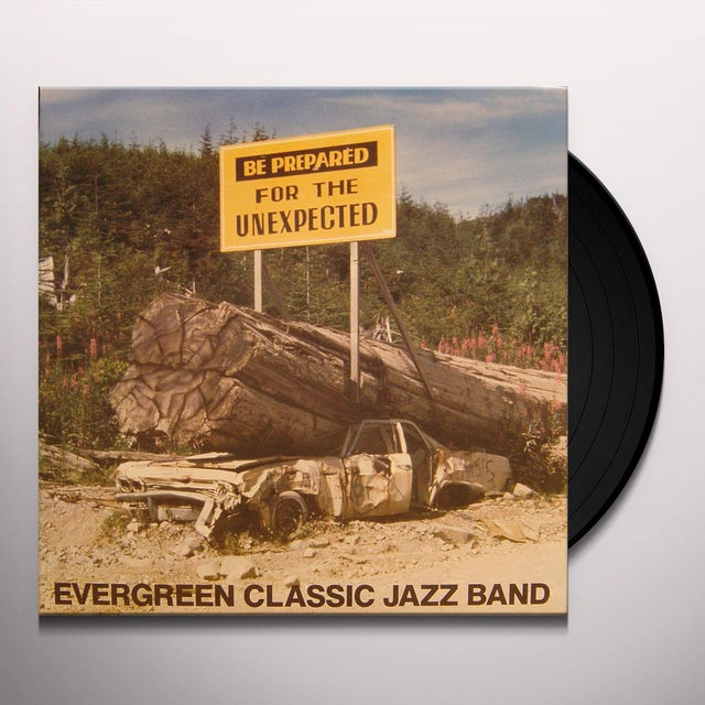 Evergreen Classic Jazz BE PREPARED Vinyl Record