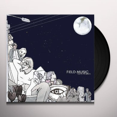 Field Music Flat White Moon Vinyl Record