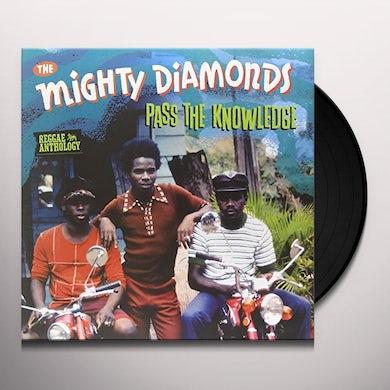 Mighty Diamonds PASS THE KNOWLEDGE - REGGAE ANTHOLOGY Vinyl Record