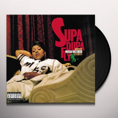 Missy Elliott SUPA DUPA FLY Vinyl Record