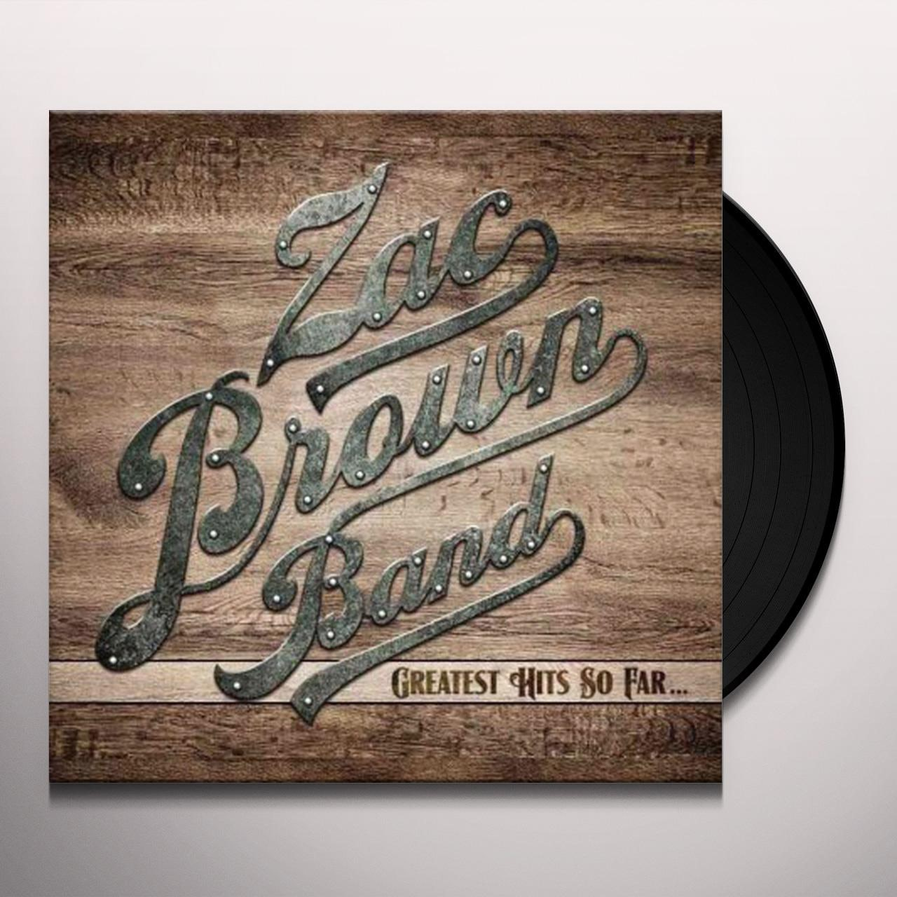 Zac Brown Band Greatest Hits So Far Vinyl Record