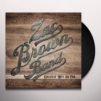 Zac Brown Band GREATEST HITS SO FAR Vinyl Record