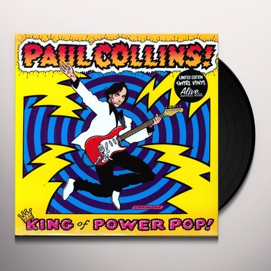 Paul Collins KING OF POWER POP Vinyl Record