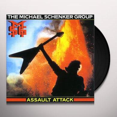 The Michael Schenker Group Assault Attack Vinyl Record