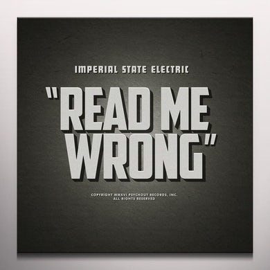 Imperial State Electric READ ME WRONG Vinyl Record