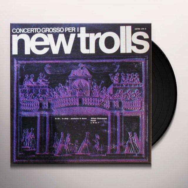 New Trolls CONCERTO GROSSO PER I NEW TR Vinyl Record