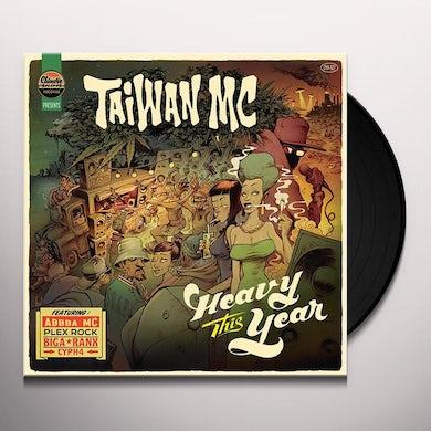 Taiwan Mc HEAVY THIS YEAR Vinyl Record