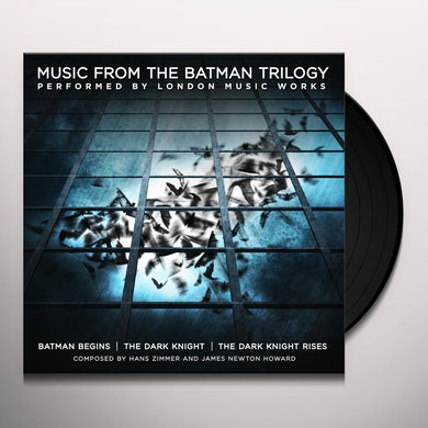 City Of Prague Philharmonic Orchestra MUSIC FROM THE BATMAN TRILOGY Vinyl Record