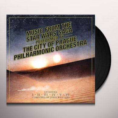 City Of Prague Philharmonic Orchestra MUSIC FROM STAR WARS SAGA Vinyl Record