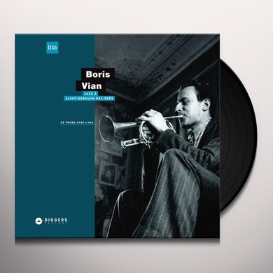 Boris Vian JAZZ A SAINT-GERMAIN-DES-PRES Vinyl Record