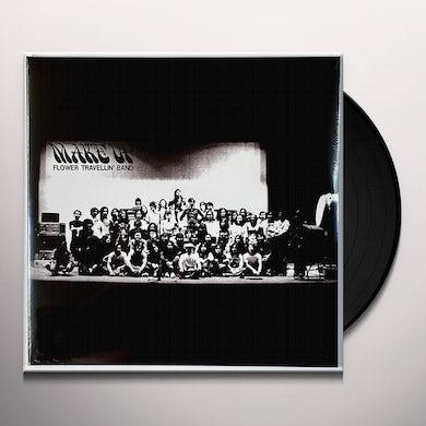 Flower Travellin Band MAKE UP Vinyl Record