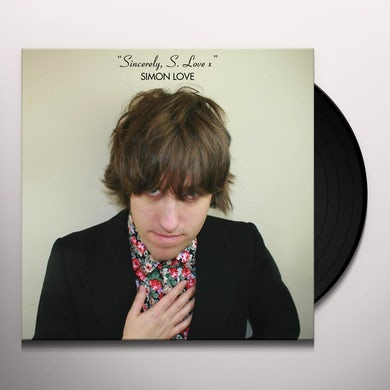Simon Love SINCERELY,S LOVE X Vinyl Record