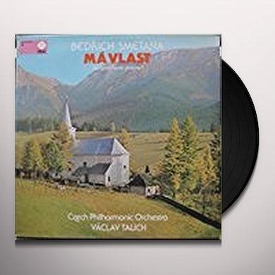 Smetana / Gorkovenko SMETANA: MA VLAST (MY COUNTRY) Vinyl Record