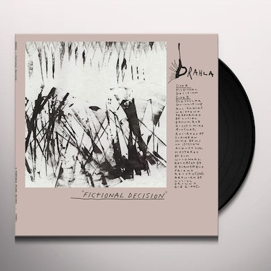 Drahla FICTIONAL DECISION Vinyl Record