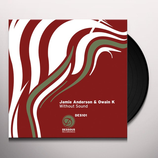 Jamie Anderson & Owain K WITHOUT SOUND Vinyl Record