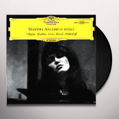 Argerich DEBUT RECITAL Vinyl Record