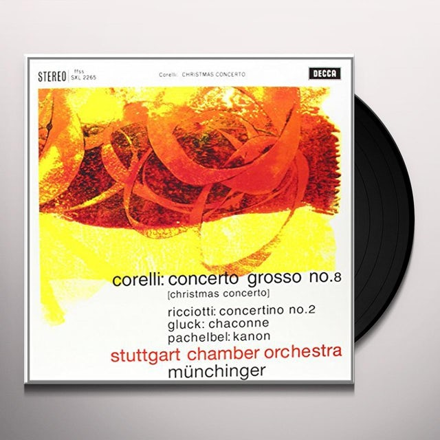 Corelli / Munchinger CONCERTO GROSSO 8 Vinyl Record