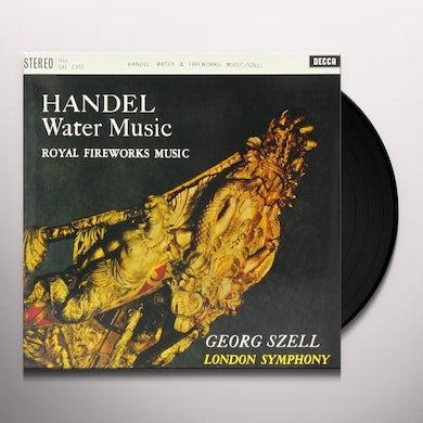 Handel / Szell WATER MUSIC FIREWORKS MUSIC Vinyl Record