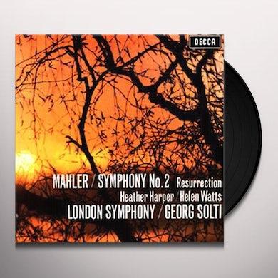 Mahler SYMPHONY 2 Vinyl Record
