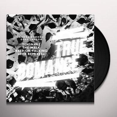 Tensnake WALK / KEEP ON TALKING REMIXES Vinyl Record