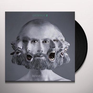 Benny Greb GREBFRUIT 2 (WHITE VINYL) Vinyl Record