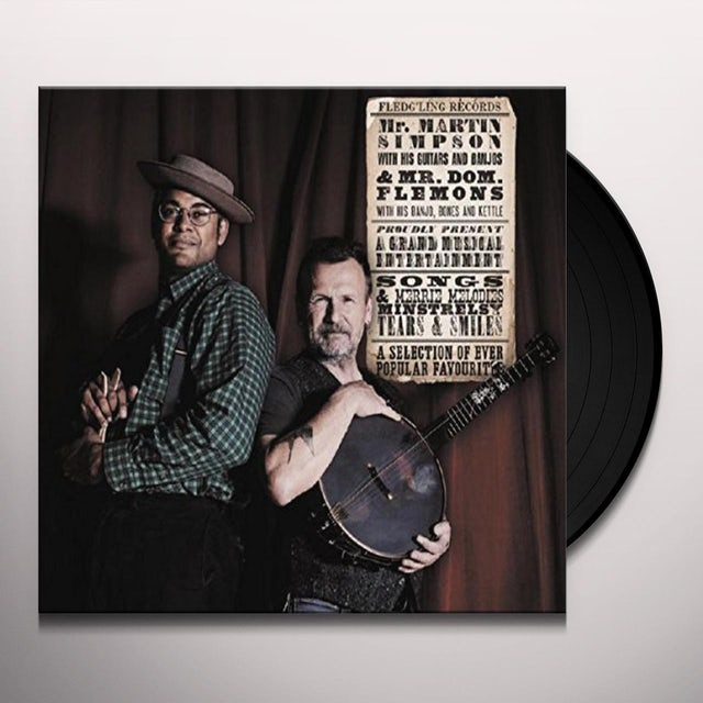 Martin Simpson / Dom Flemons EVER POPULAR FAVOURITES Vinyl Record
