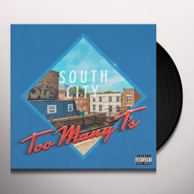 Too Many T'S SOUTH CITY COURT Vinyl Record