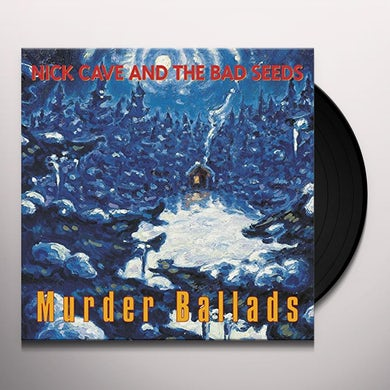 Nick Cave & The Bad Seeds MURDER BALLADS Vinyl Record