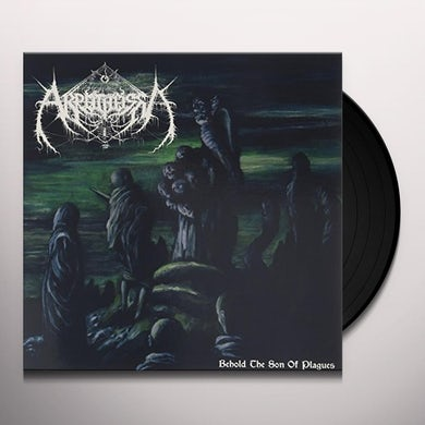 AKROTHEISM BEHOLD THE SON OF PLAGUES Vinyl Record