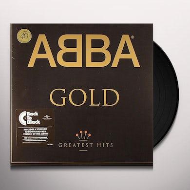 Abba GOLD: GREATEST HITS Vinyl Record