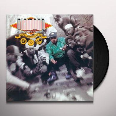 Diamond & The Psychotic Neurotics STUNTS BLUNTS & HIP HOP Vinyl Record