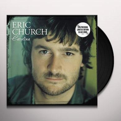 Eric Church Carolina (Clear LP) Vinyl Record