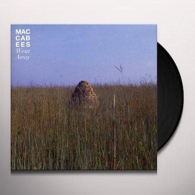 The Maccabees WENT AWAY Vinyl Record