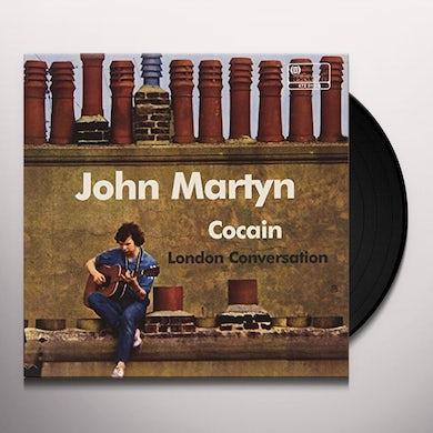 John Martyn COCAIN / LONDON CONVERSATION Vinyl Record - Italy Release