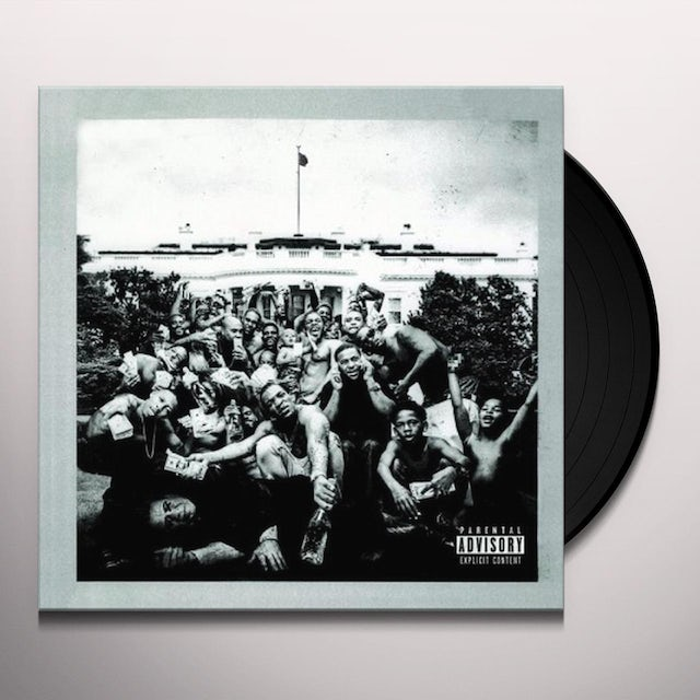 Kendrick Lamar TO PIMP A BUTTERFLY Vinyl Record