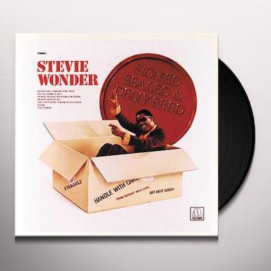 Stevie Wonder  SIGNED SEALED & DELIVERED Vinyl Record