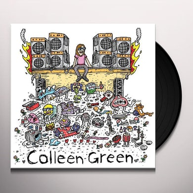 Colleen Green CASEY'S TAPE / HARMONTOWN LOOPS Vinyl Record