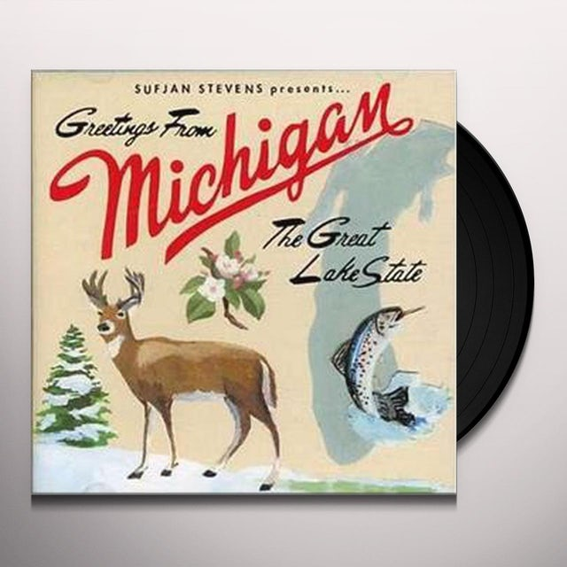 Sufjan Stevens MICHIGAN Vinyl Record