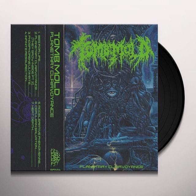 Tomb PLANETARY CLAIRVOYANCE Vinyl Record