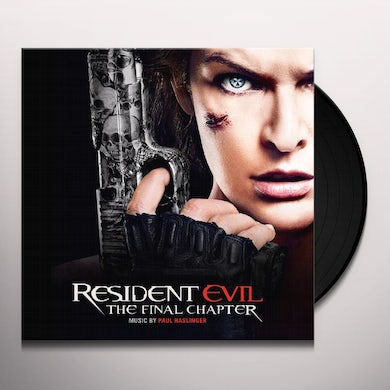 Paul Haslinger RESIDENT EVIL: THE FINAL CHAPTER - Original Soundtrack Vinyl Record
