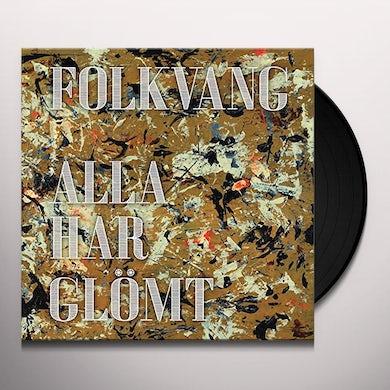 Folkvagn ALLA HAR GLOMT Vinyl Record