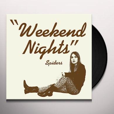 Spiders WEEKEND NIGHTS Vinyl Record