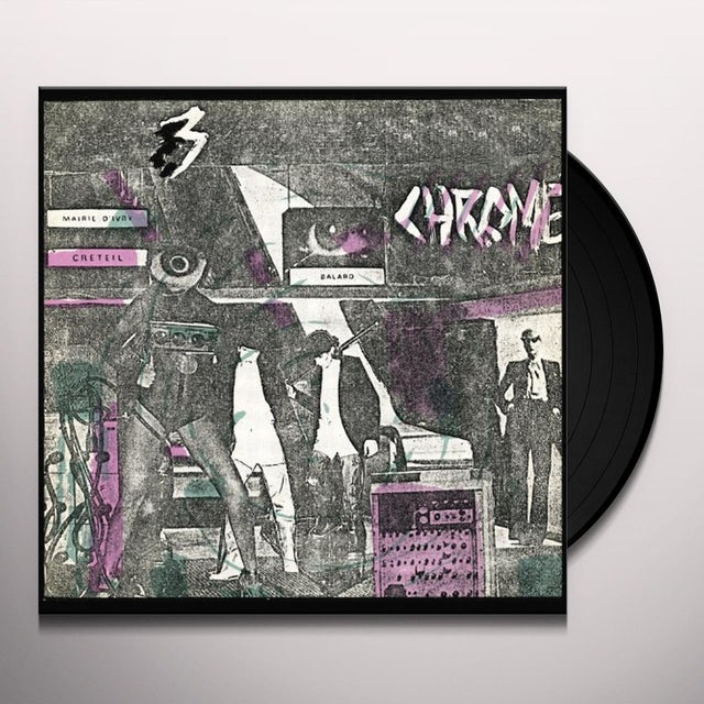 Chrome READ ONLY MEMORY Vinyl Record