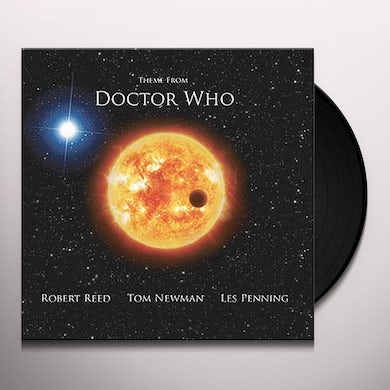 Robert Reed DR WHO THEME Vinyl Record